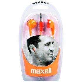 MAXELL EB 98 sluchátka pecková oranžová