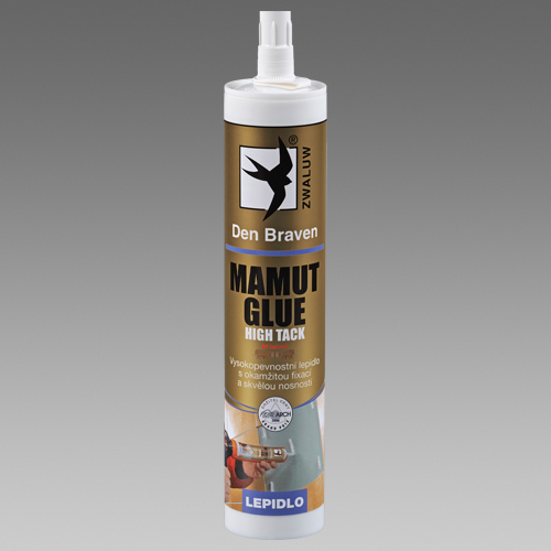 DEN BRAVEN MAMUT GLUE (High tack) 290ml bílý