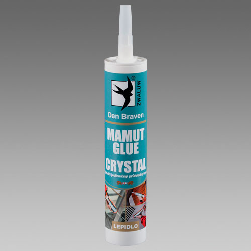 DEN BRAVEN MAMUT GLUE crystal 290ml transpar.