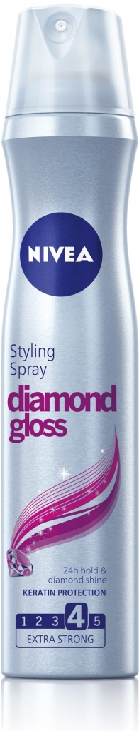 NIVEA Lak na vlasy DIAMOND GLOSS 250ml