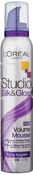 STUDIO Line pěnové tužidlo SILK GLOSS 200ml