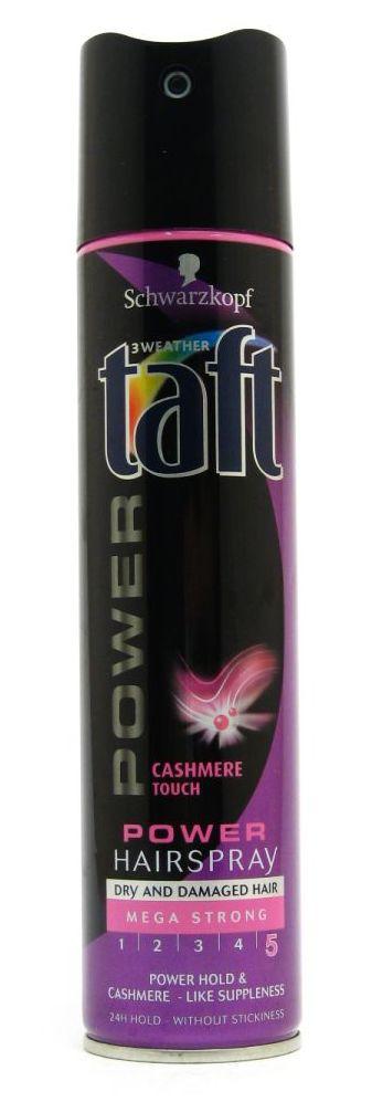 TAFT Power lak na vlasy Cashmere 250ml