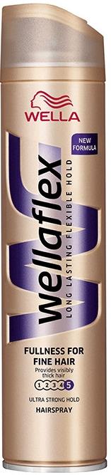 WELLAFLEX Lak na vlasy pro objem vlasů 250ml