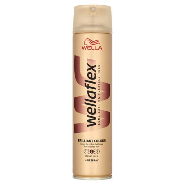 WELLAFLEX Lak na vlasy BRILLIANT COLOUR 250ml