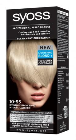 SYOSS Barva na vlasy 10-95 ledová blond