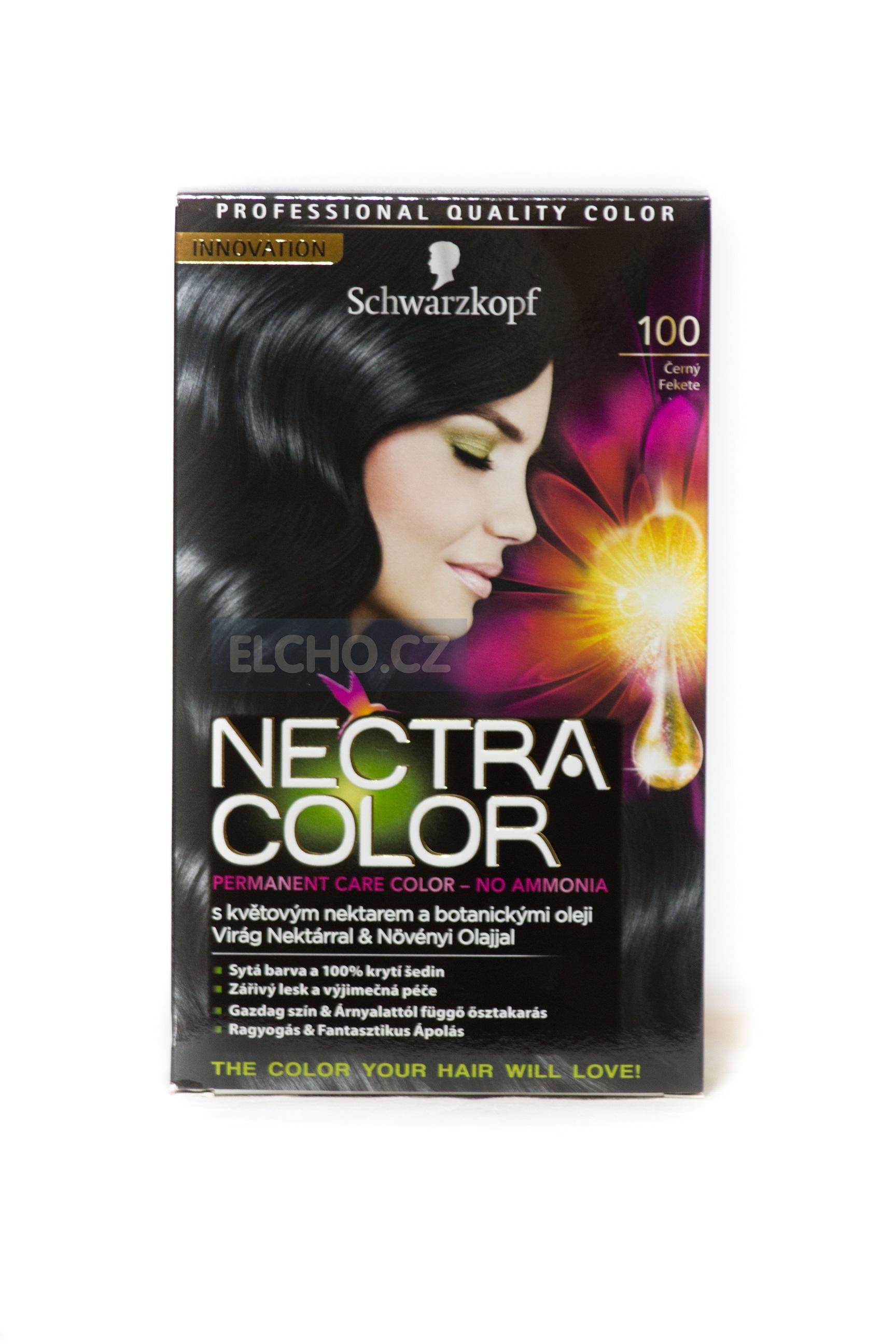 SCHWARZKOPF Nectra color 100 černý