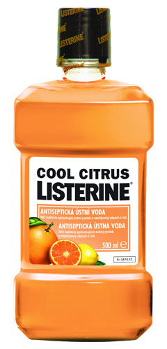 LISTERINE Cool Citrus 500ml ústní voda