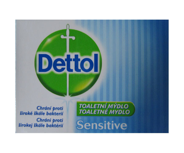 DETTOL Tuhé mýdlo sensitive 100g