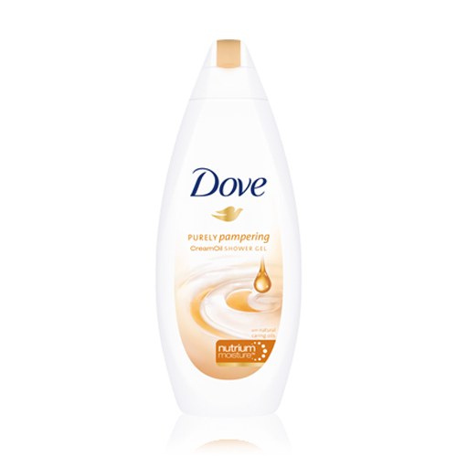 DOVE Sprchový gel PURELY PAMPERING 250ml