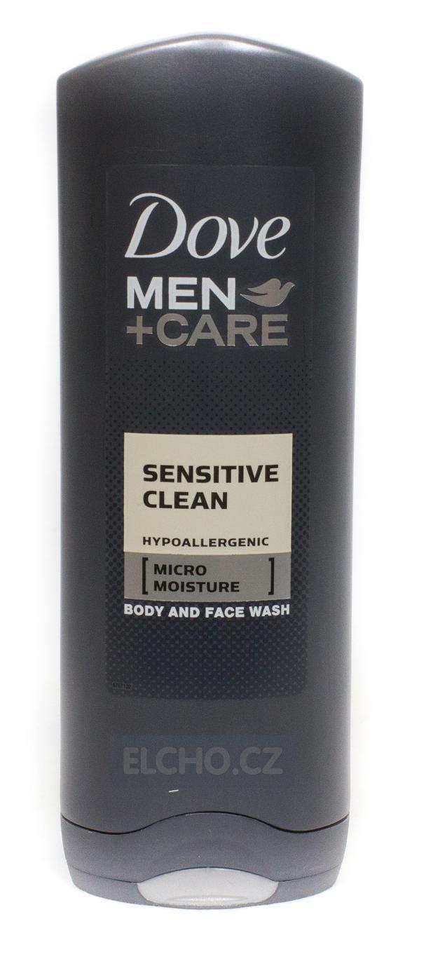 DOVE Men sprchový gel SENSITIVE CLEAN 250ml
