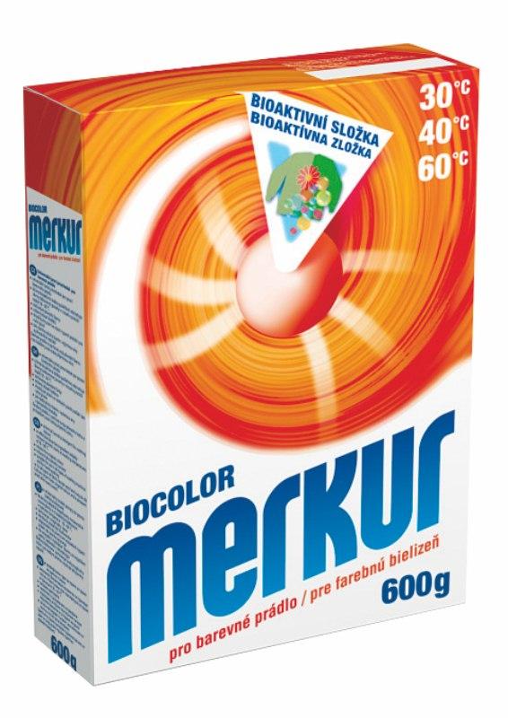 MERKUR BIOCOLOR prací prášek 600g