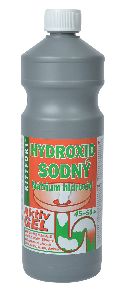 KITTFORT Hydroxid sodný gel 1l