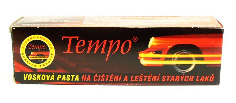 TEMPO Vosková pasta na čištění a leštění 120g
