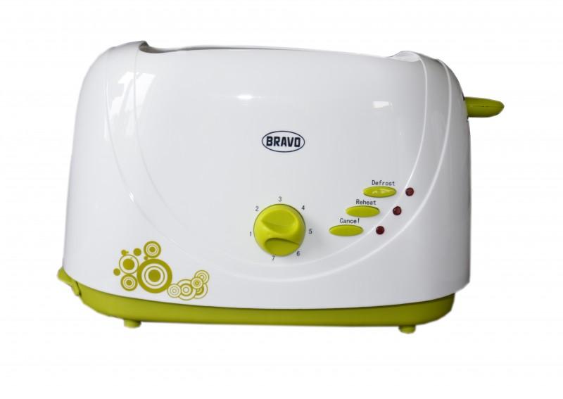 BRAVO B 4294 topinkovač zelený dekor