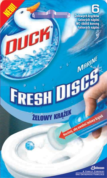 DUCK Fresh Discs gel 36ml Marine