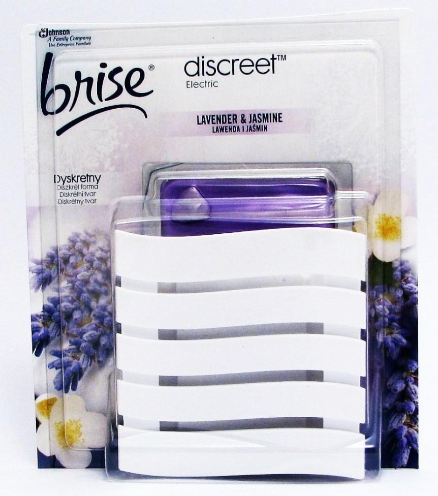 BRISE Discreet electric levandule a jasmín 12g