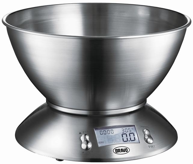 BRAVO B 5074 kuchyňská váha s miskou