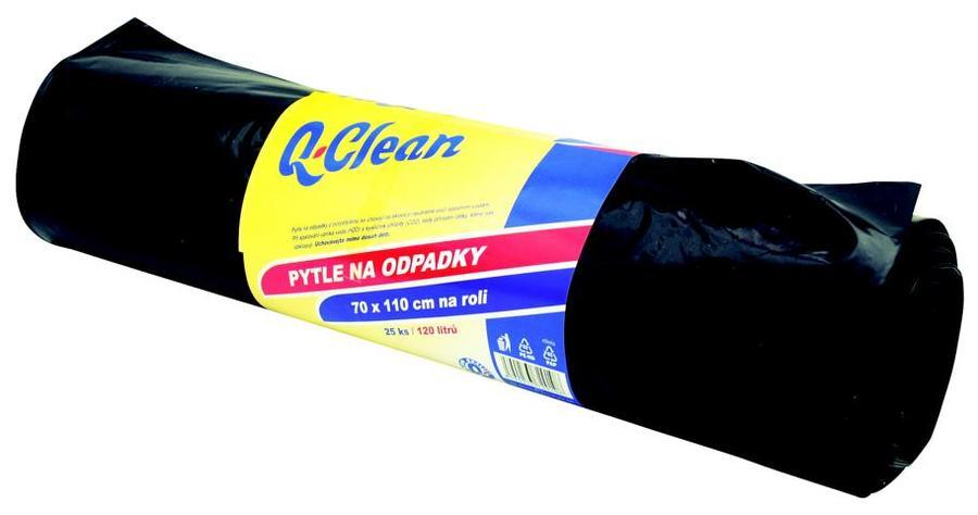 Q CLEAN Odpadkové pytle 70x110cm 120l