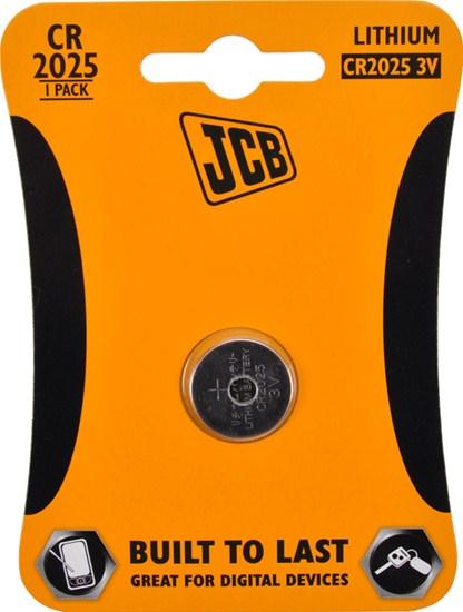 JCB CR2025 baterie 1ks