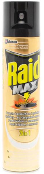 RAID Max proti švábům a mravencům 400ml