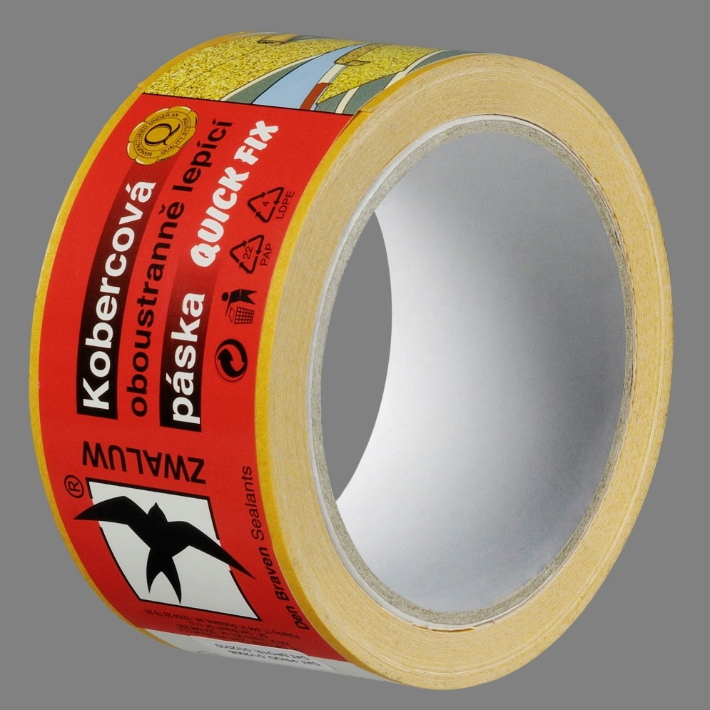 DEN BRAVEN Kobercová oboustranná páska 50mm x 5m RL