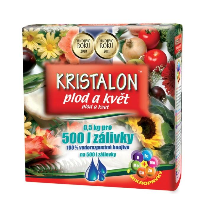 KRISTALON Plod a Květ 0,5kg pro 500l zálivky