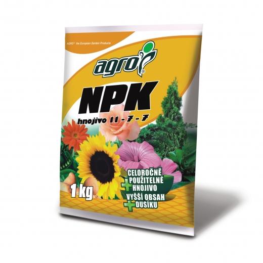 AGRO CS Univerzální hnojivo NPK 1kg