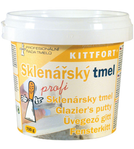 KITTFORT Tmel PROFI sklenářský 1kg