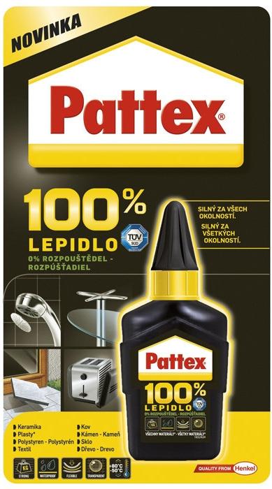 PATTEX Univerzální lepidlo 100% 50g