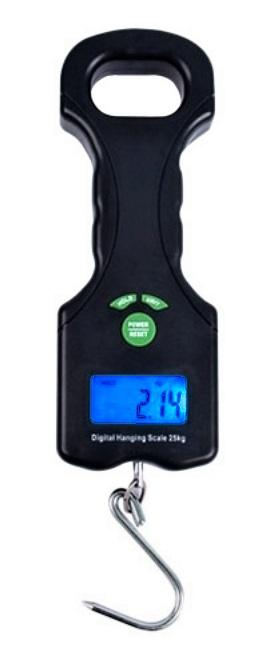 Váha Rybářská závěsná digitální 25kg