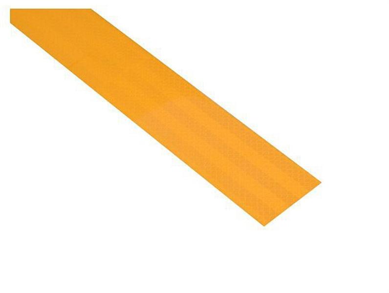 Reflexní páska samolepící 1m x 5cm žlutá