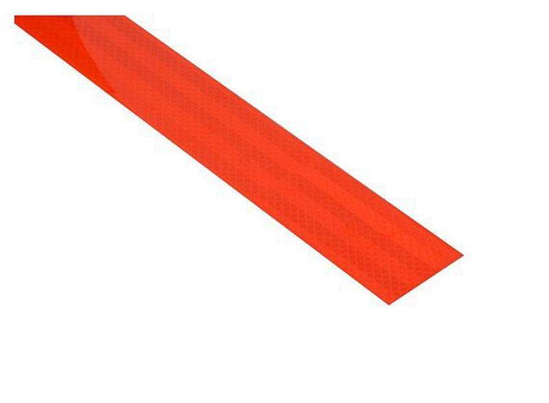 Reflexní páska samolepící 1m x 5cm červená