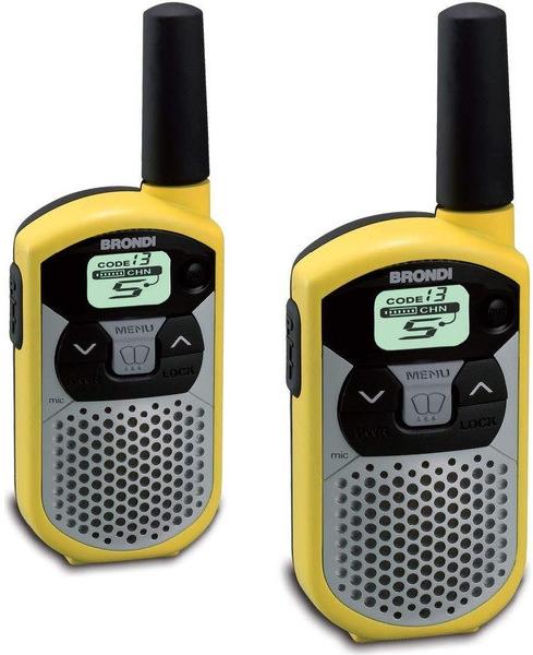 BRONDI FX 4 TWIN vysílačky žluté