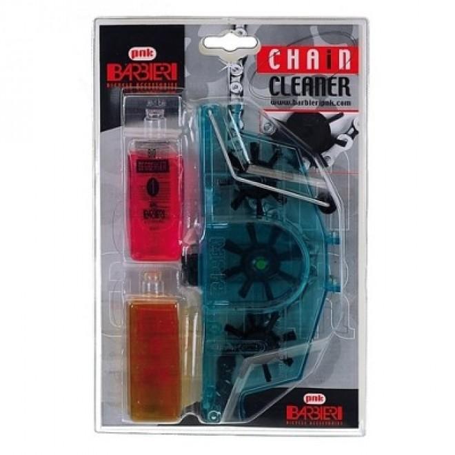 BARBIERI čistič řetězu + odmašťovací + mazací roz