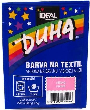 IDEAL Duha barva na textil růžová 15g