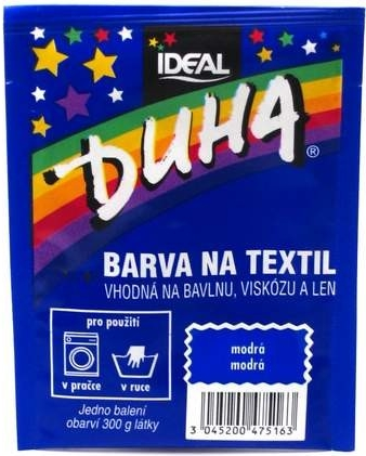 IDEAL Duha barva na textil modrá 15g