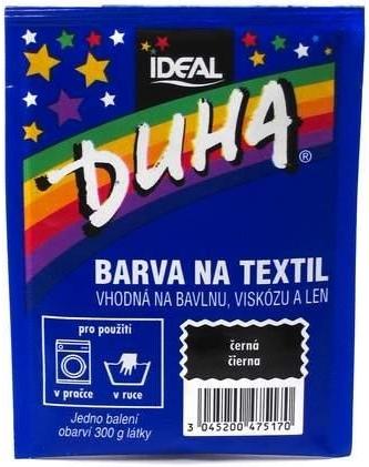IDEAL Duha barva na textil černá 15g