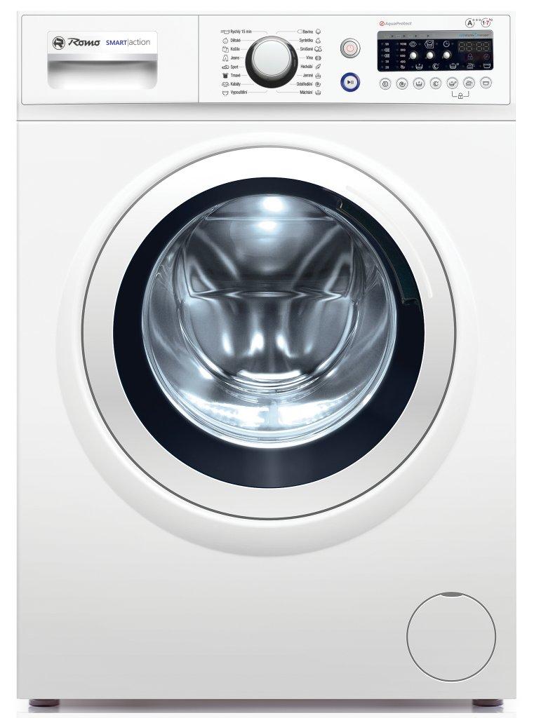 ROMO WFR1070L pračka předem plněná bílá