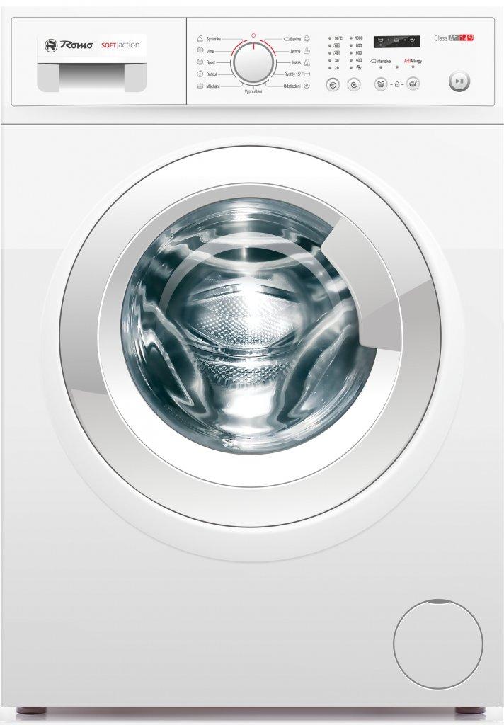 ROMO WFR1049XS pračka předem plněná bílá