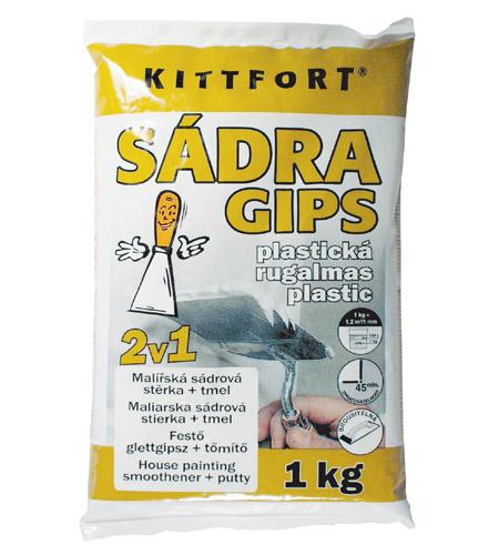 KITTFORT Sádra plastická 2v1 1kg