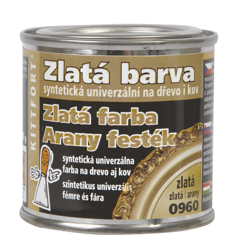 BARVA Dekorativní syntetická zlatá 80g
