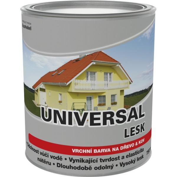 DULUX Universal lesk 9110 hliník 0,75l