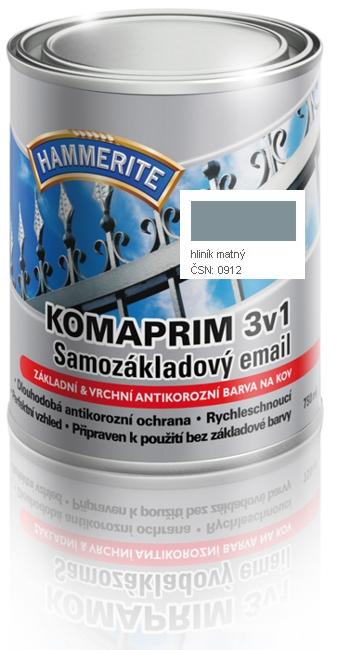 KOMAPRIM 3v1 0912 hliník matný 0,75l