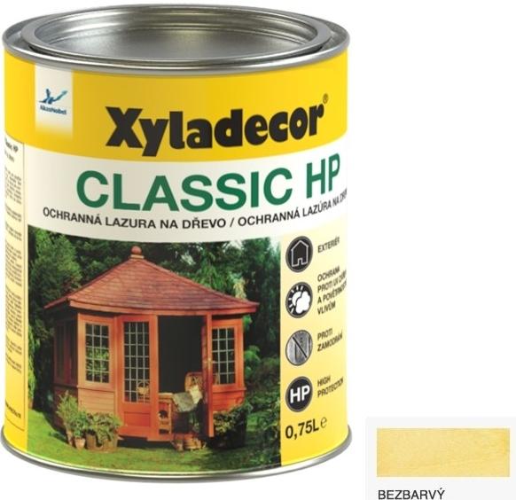 XYLADECOR CLASSIC lazura na dřevo bezbarvý 0,75l