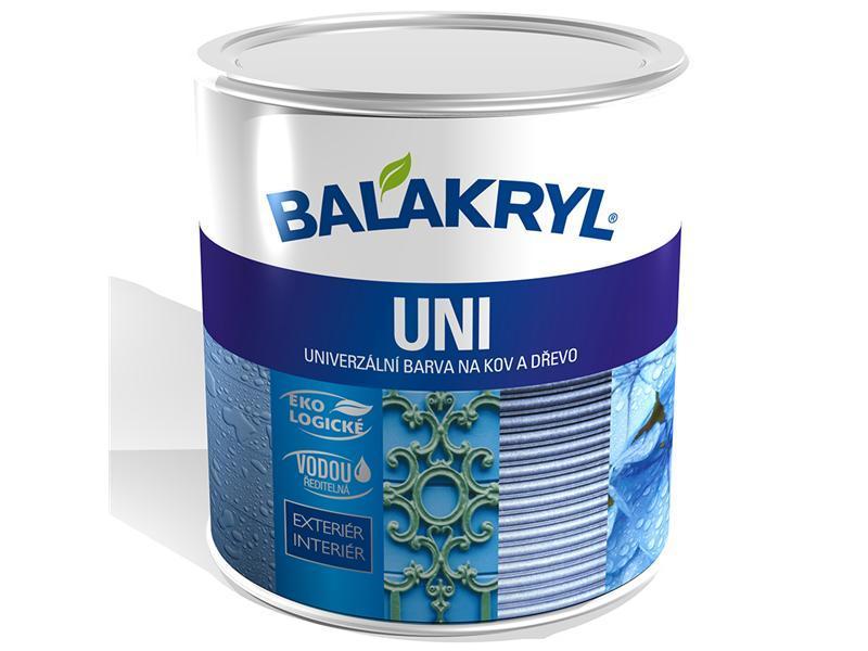 BALAKRYL UNI MAT 0199 černý 0,7kg