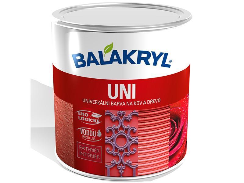 BALAKRYL UNI LESK 0245 tmavě hnědý 0,7kg