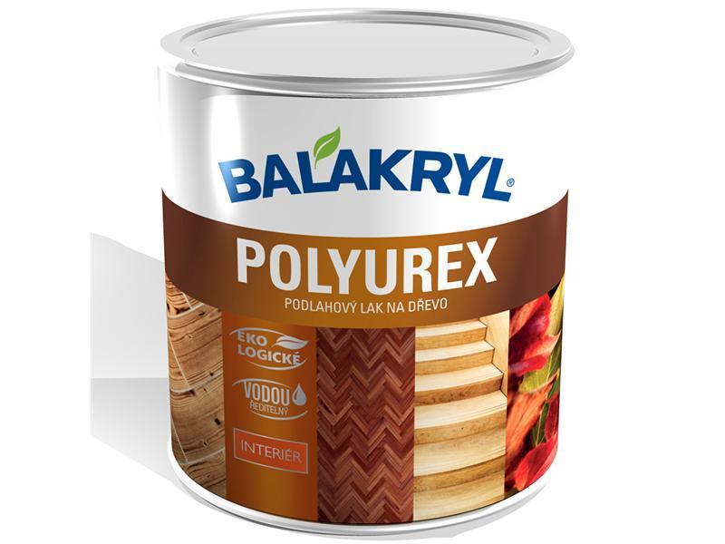 BALAKRYL POLYUREX bezbarvý polomat 0,6kg