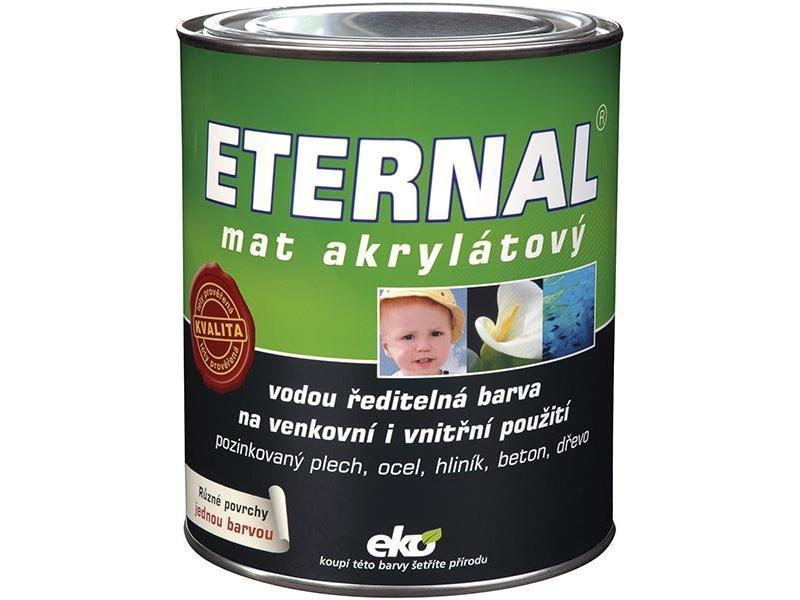 ETERNAL Mat akrylátový 013 černý 0,7kg