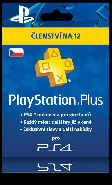PS4 Předplacená karta SONY Playstation Plus