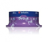 VERBATIM DVD+R 4,7GB 16x spindl 25ks